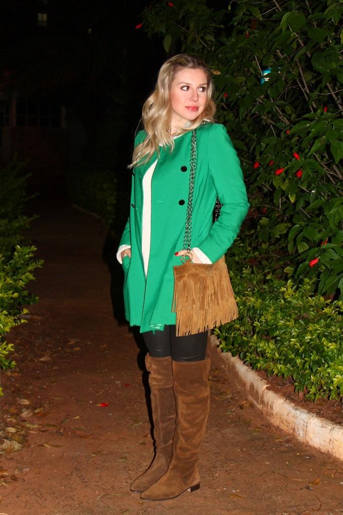 Mirella Sobretudo Verde 3