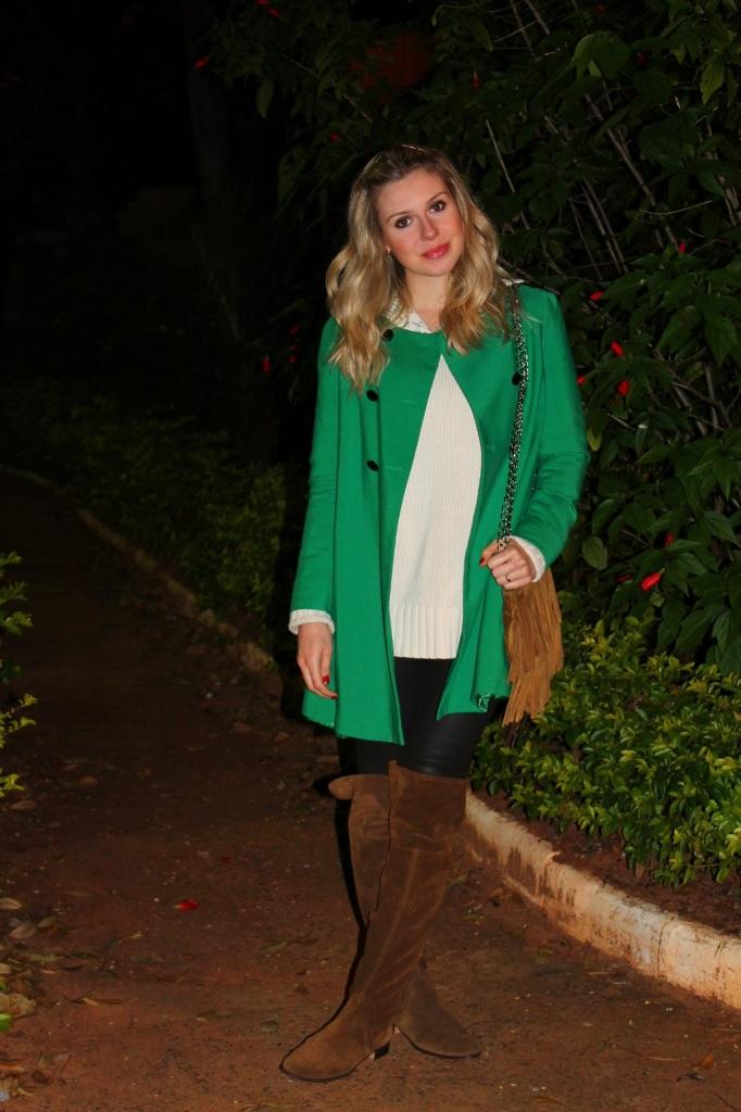 Mirella Sobretudo Verde 5