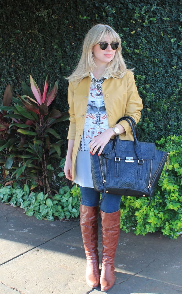 Mirella casaco couro mostarda 10