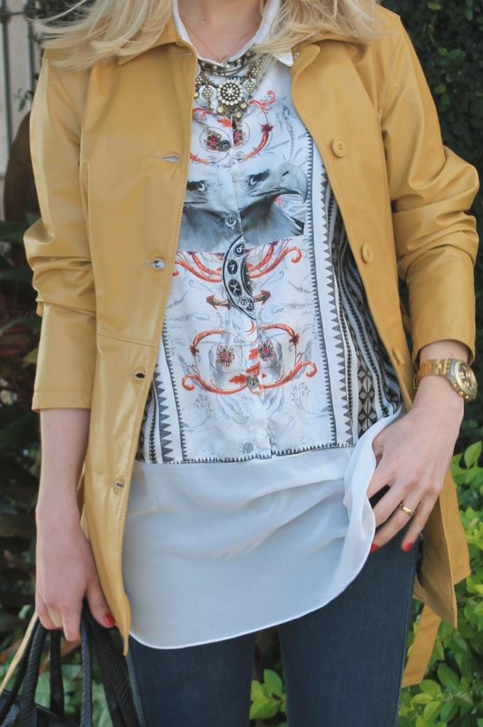 Mirella casaco couro mostarda 11