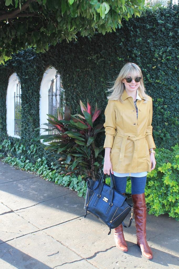 Mirella casaco couro mostarda 4