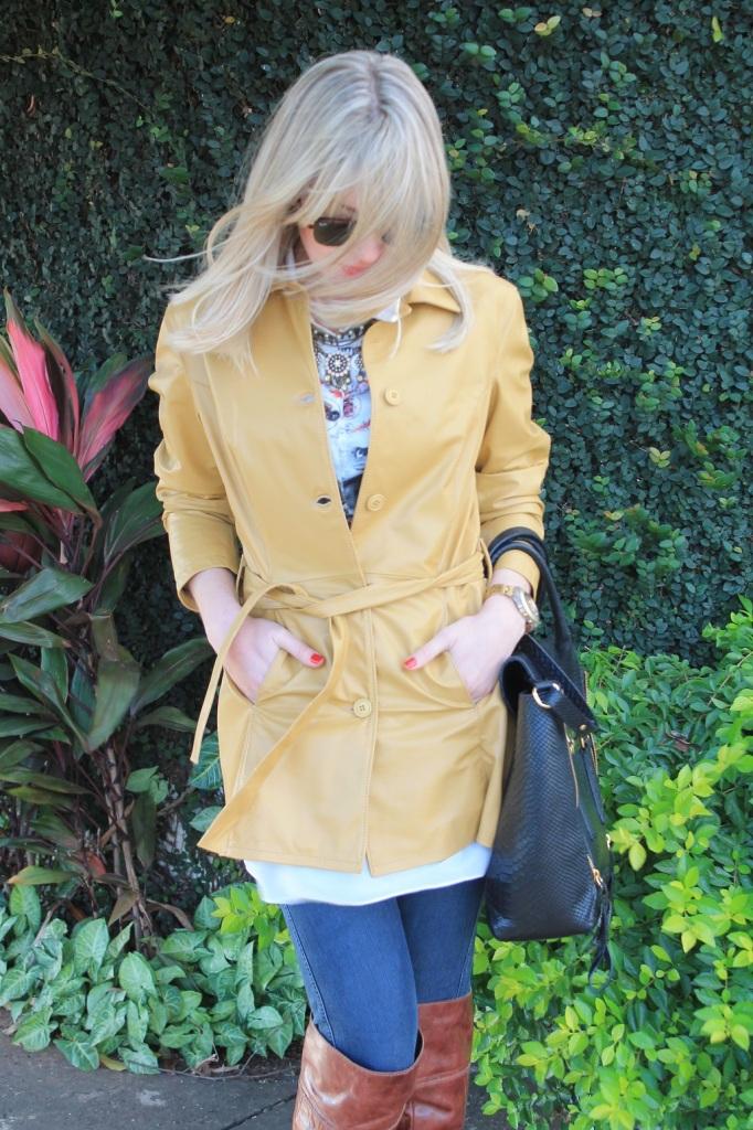 Mirella casaco couro mostarda 5