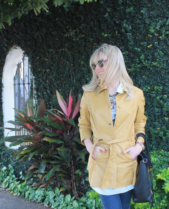 Mirella casaco couro mostarda 7