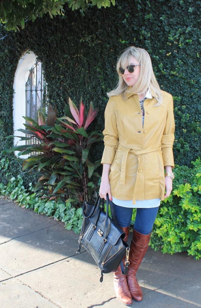 Mirella casaco couro mostarda 8