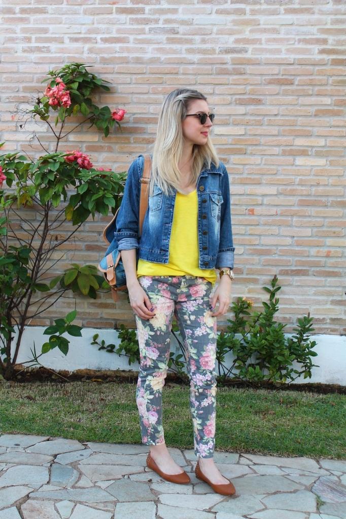 Mirella jeans + floral pants 1