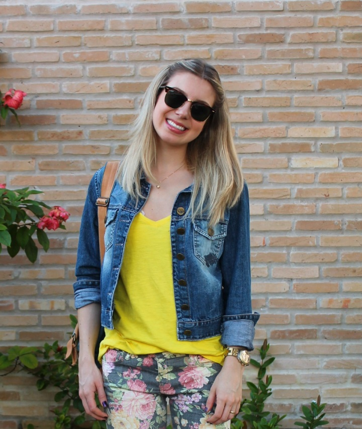 Mirella jeans + floral pants 10