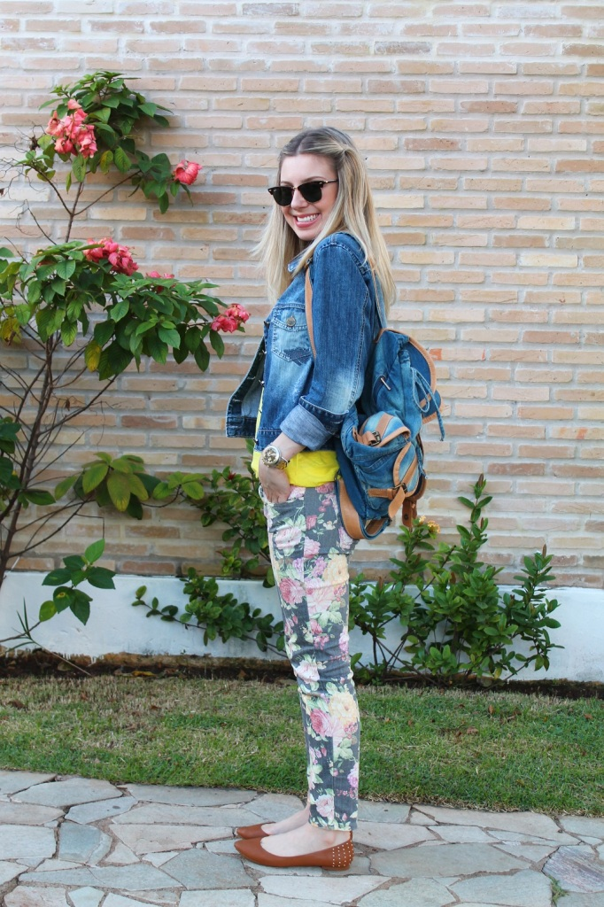 Mirella jeans + floral pants 2