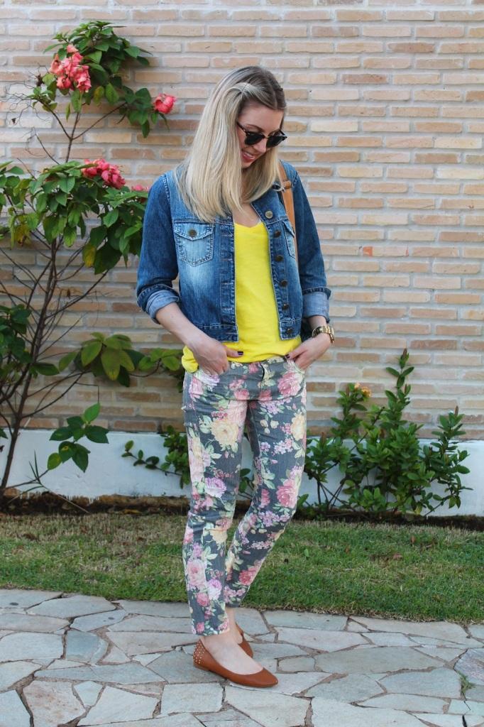 Mirella jeans + floral pants 3