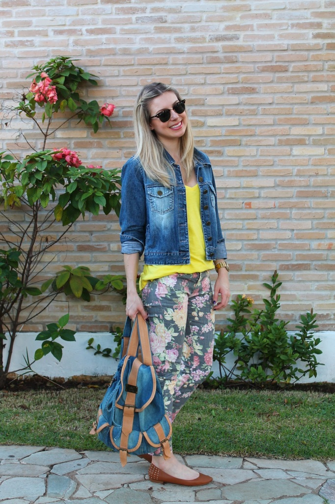 Mirella jeans + floral pants 4