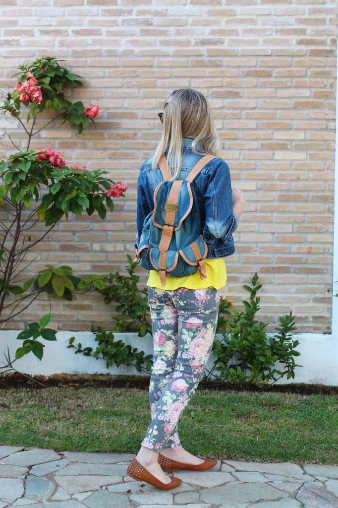 Mirella jeans + floral pants 5