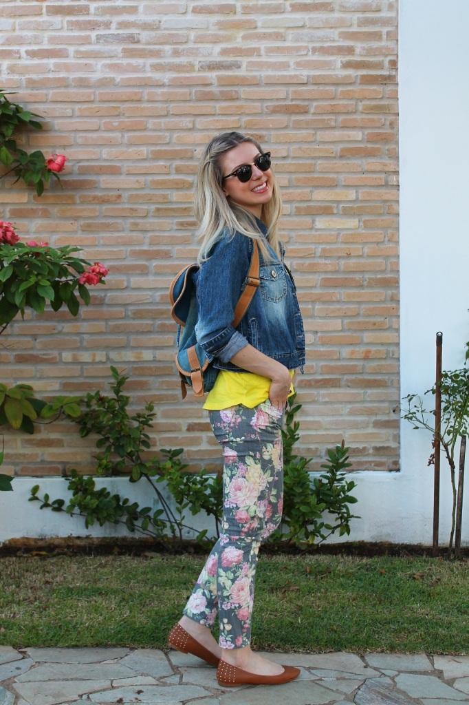 Mirella jeans + floral pants 6