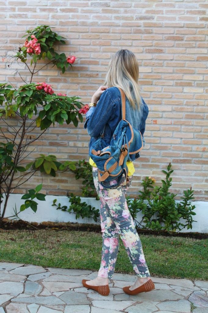 Mirella jeans + floral pants 7