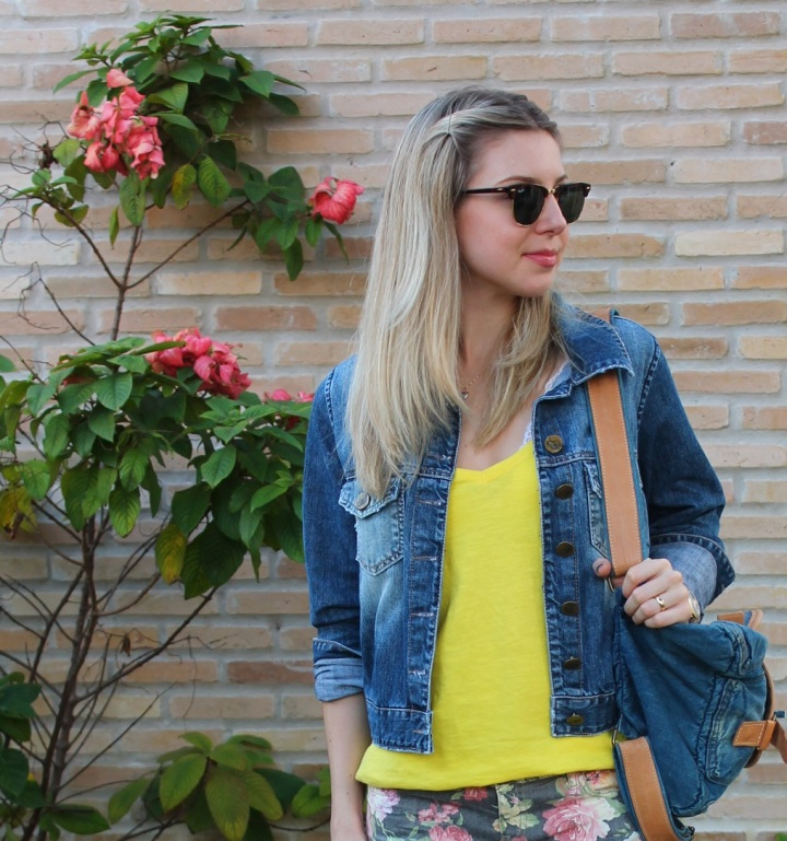 Mirella jeans + floral pants 8