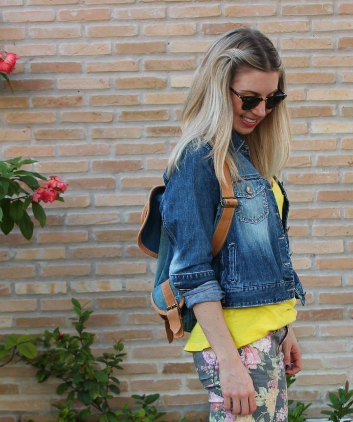 Mirella jeans + floral pants 9