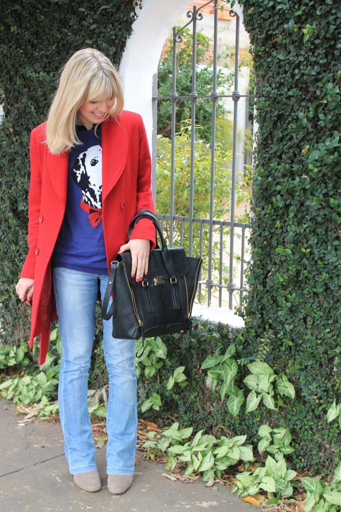 Mirella Sobretudo vermelho 1