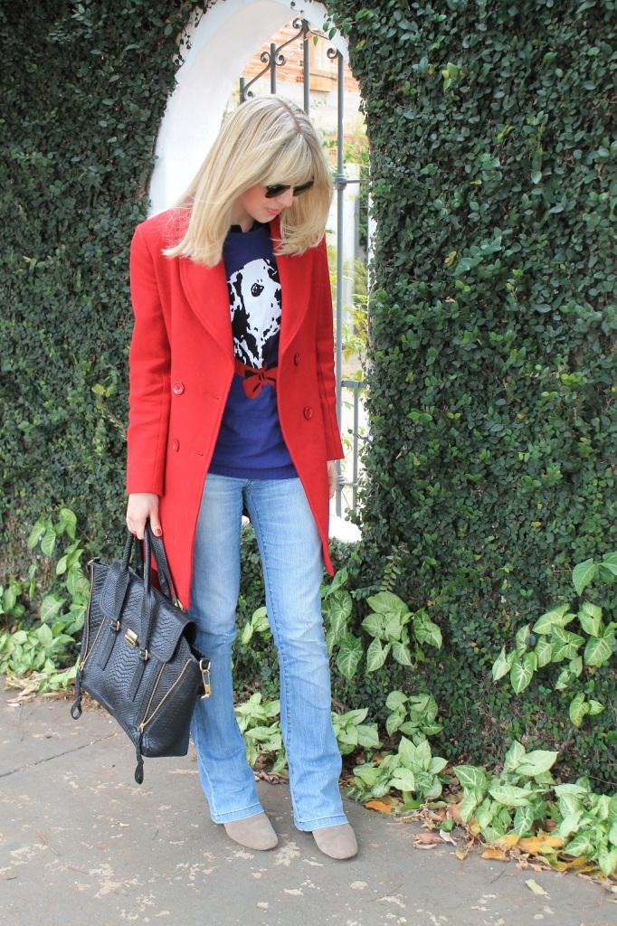 Mirella Sobretudo vermelho 4