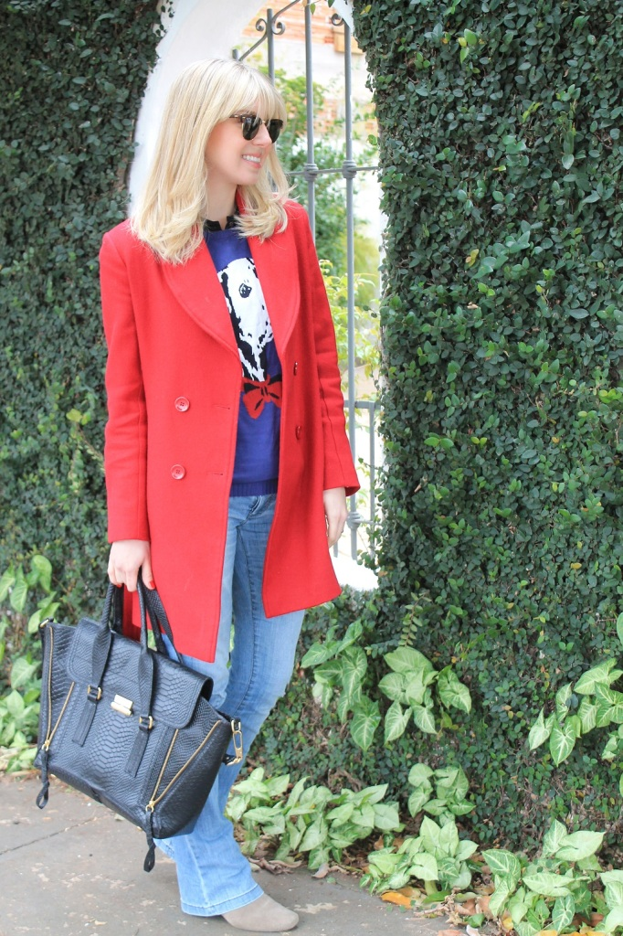 Mirella Sobretudo vermelho 7