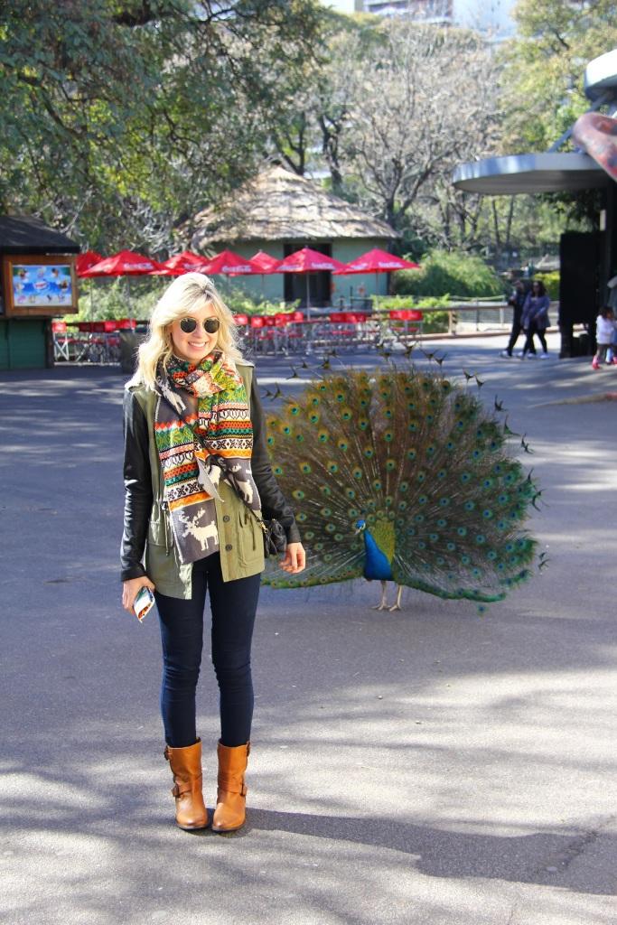 Mirella Buenos Aires zoo 3