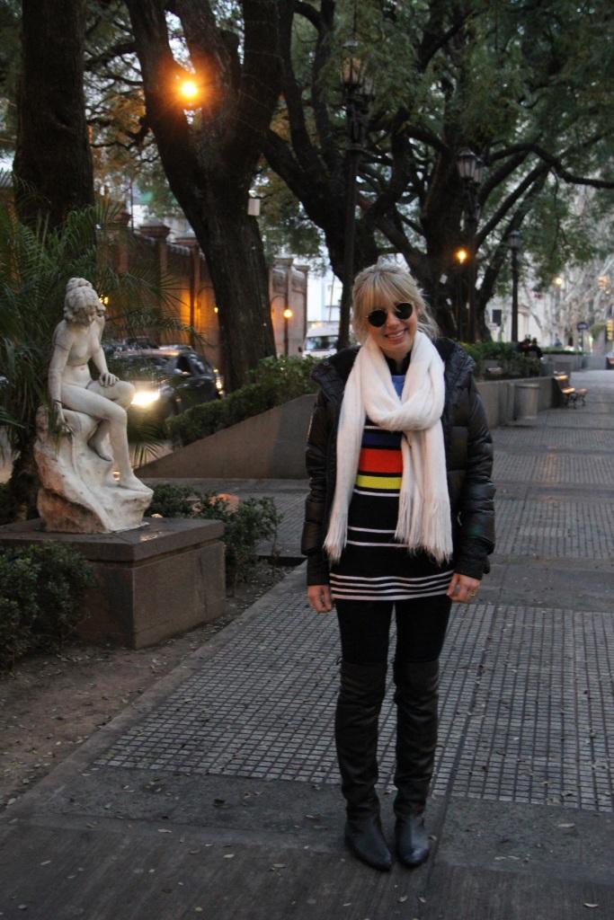 Mirella puffer jacket Buenos Aires 1
