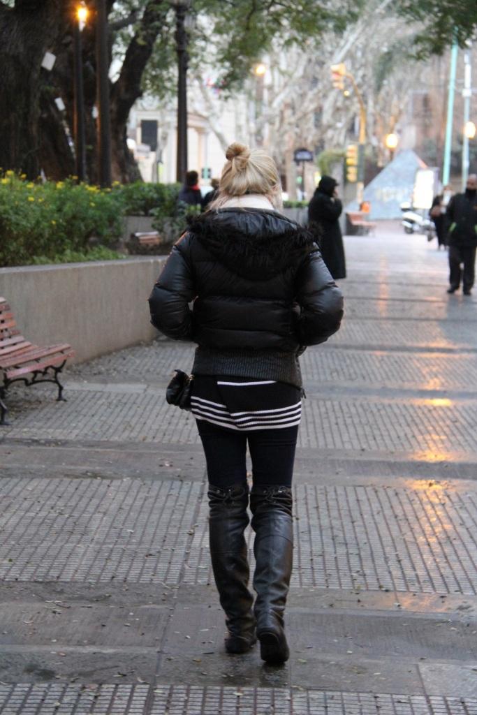 Mirella puffer jacket Buenos Aires 18