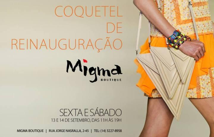 Coquetel Reinauguracao Migma