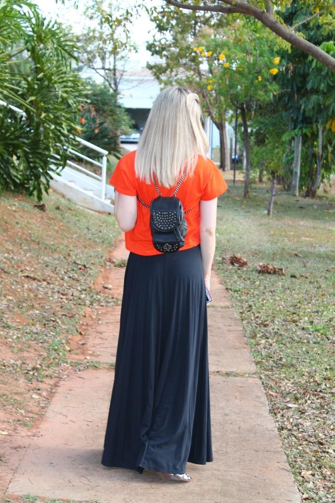 Mirella preto + laranja 3