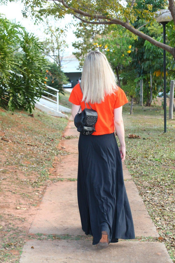 Mirella preto + laranja 4