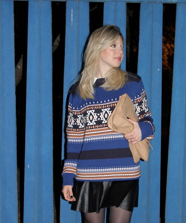 Mirella tricot étnico 4