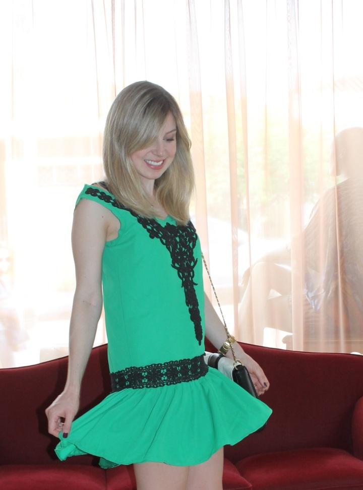 Mirella vestidinho verde 1