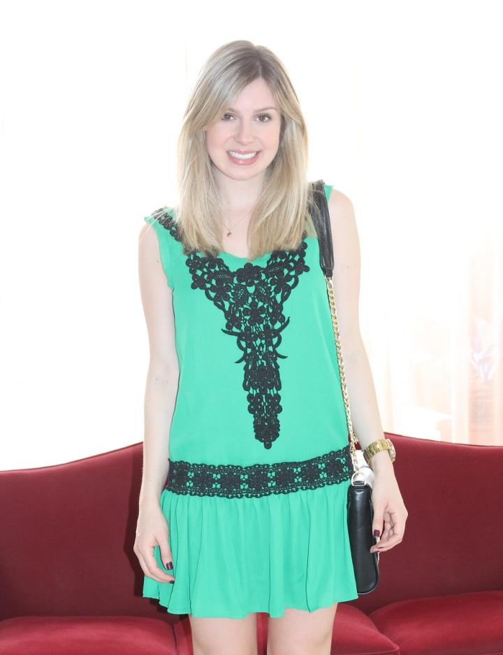 Mirella vestidinho verde 2