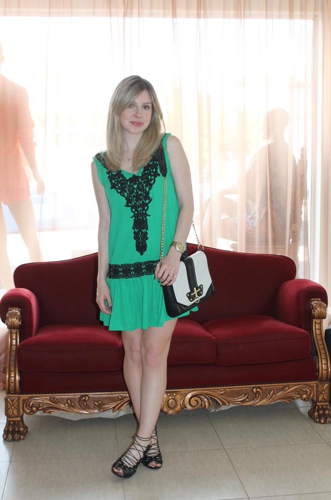 Mirella vestidinho verde 3
