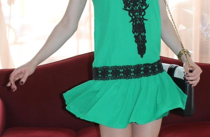 Mirella vestidinho verde 4