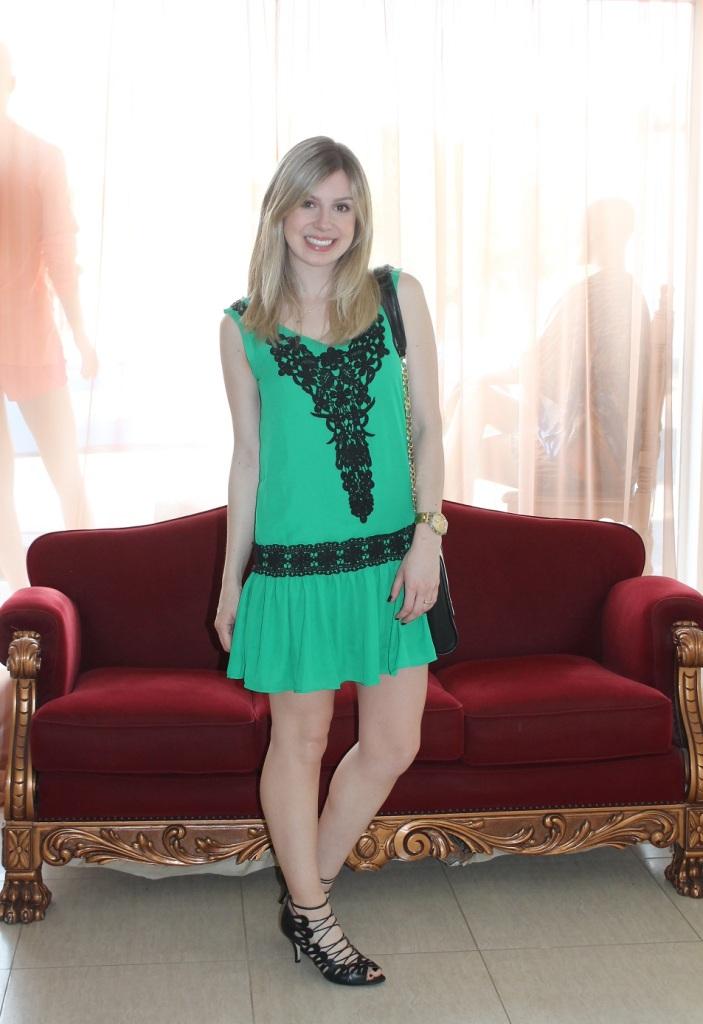 Mirella vestidinho verde 6