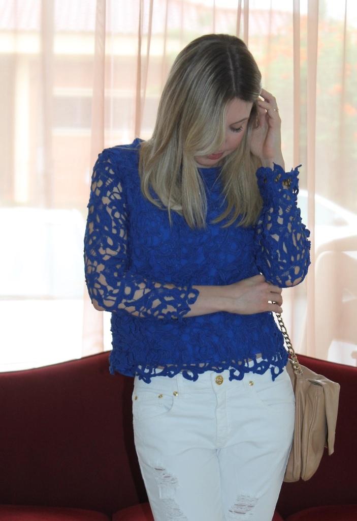 Mirella blusa renda azul 1