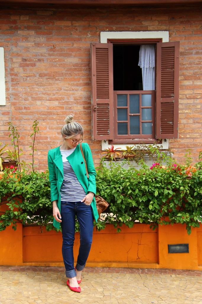 Mirella navy + verde 1