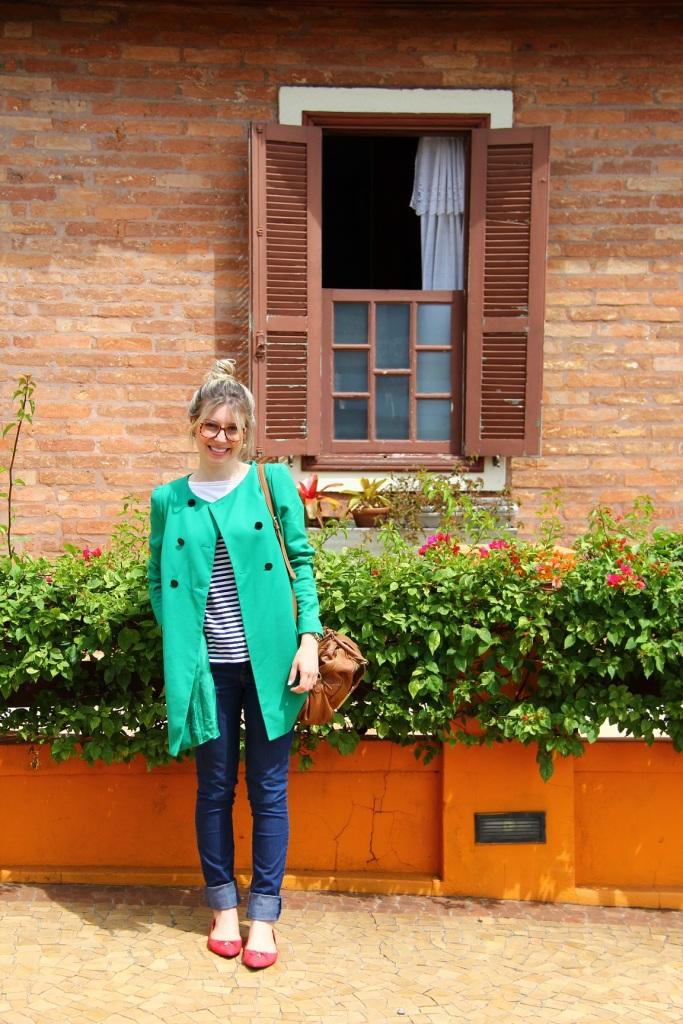 Mirella navy + verde 12