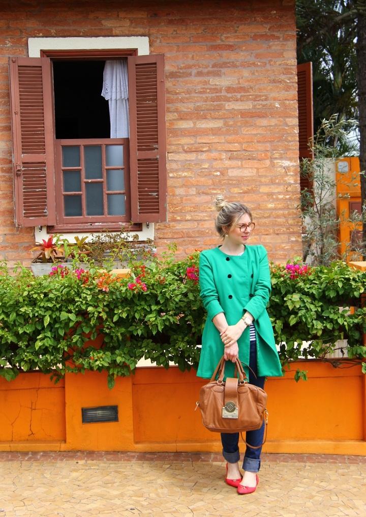 Mirella navy + verde 14