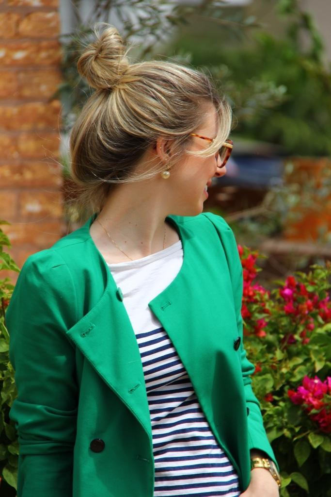 Mirella navy + verde 7