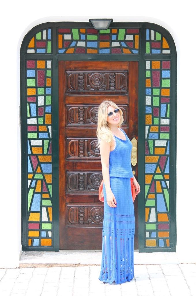 Mirella longo croche azul 1