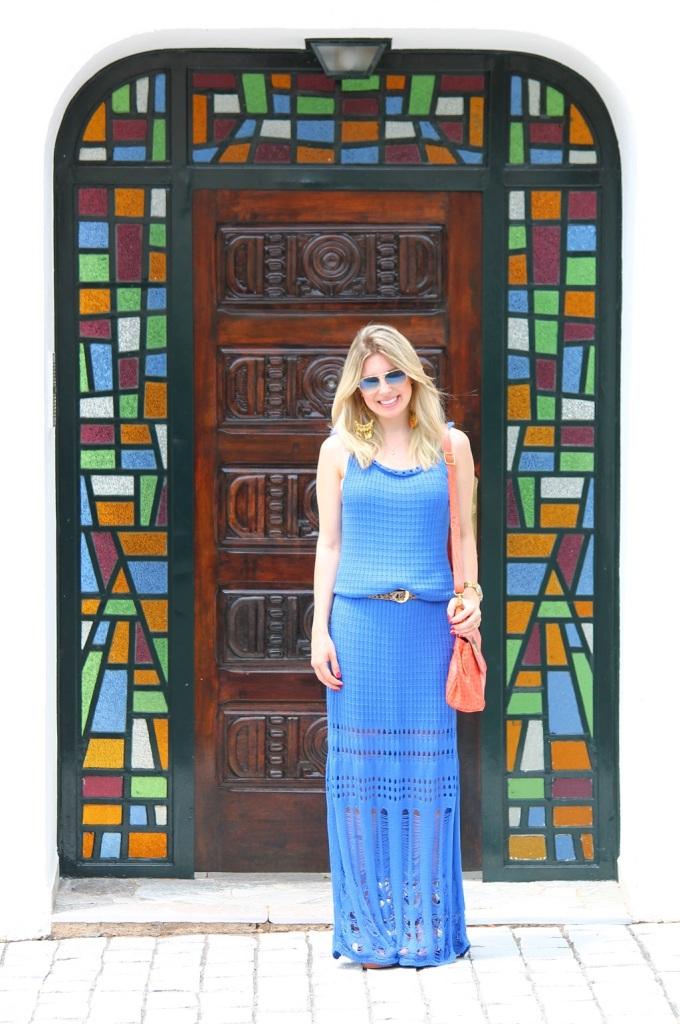Mirella longo croche azul 2