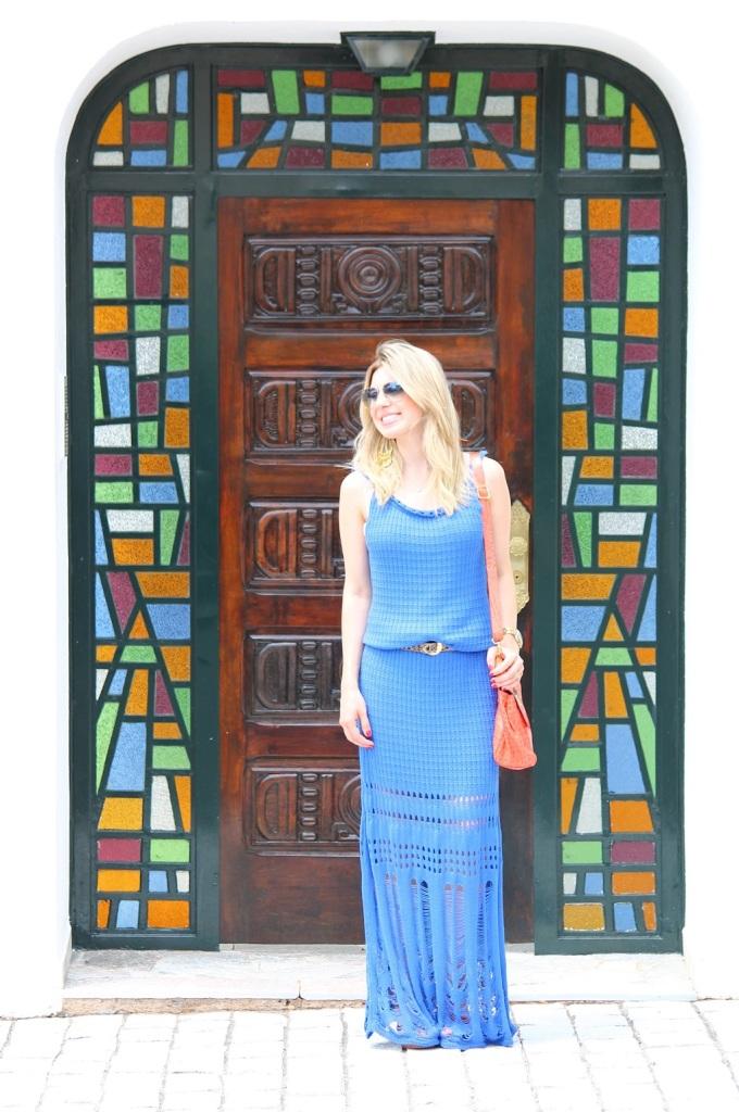Mirella longo croche azul 3