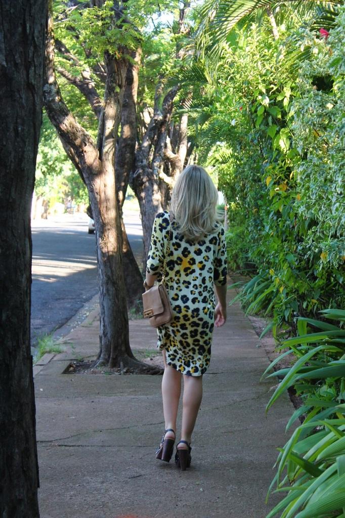 Animal print dress Mirella 2