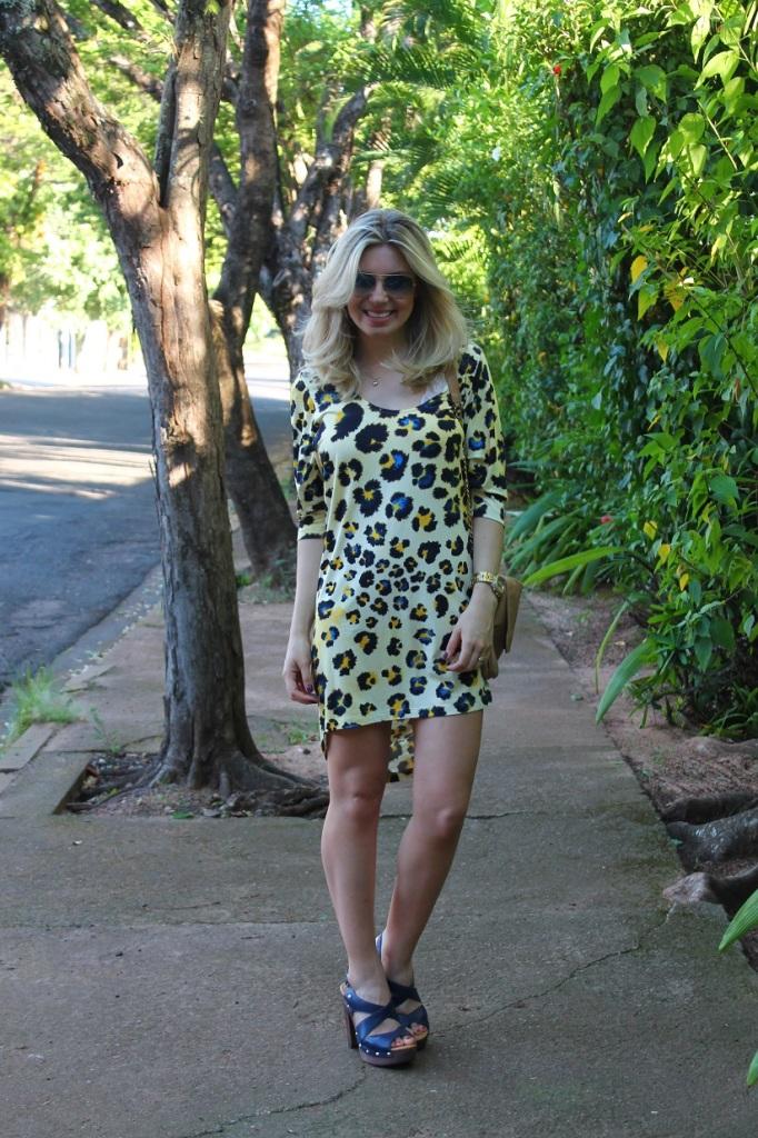 Animal print dress Mirella 4