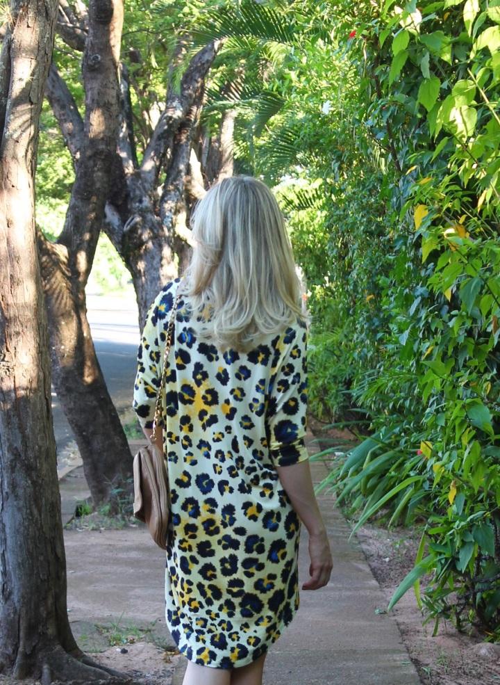 Animal print dress Mirella 5