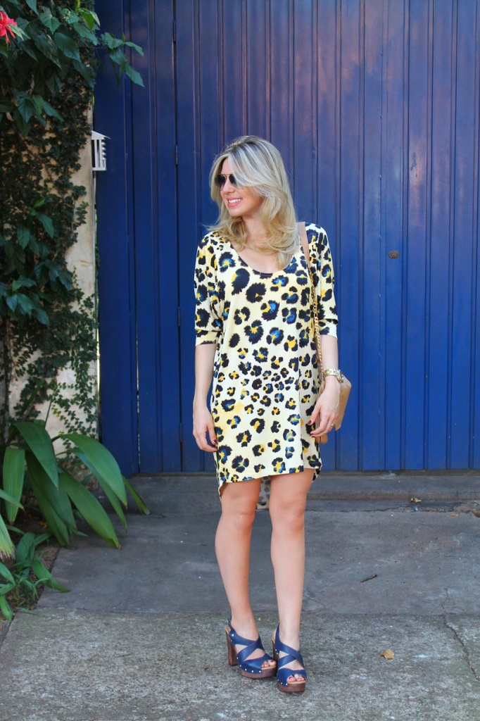 Animal print dress Mirella 6