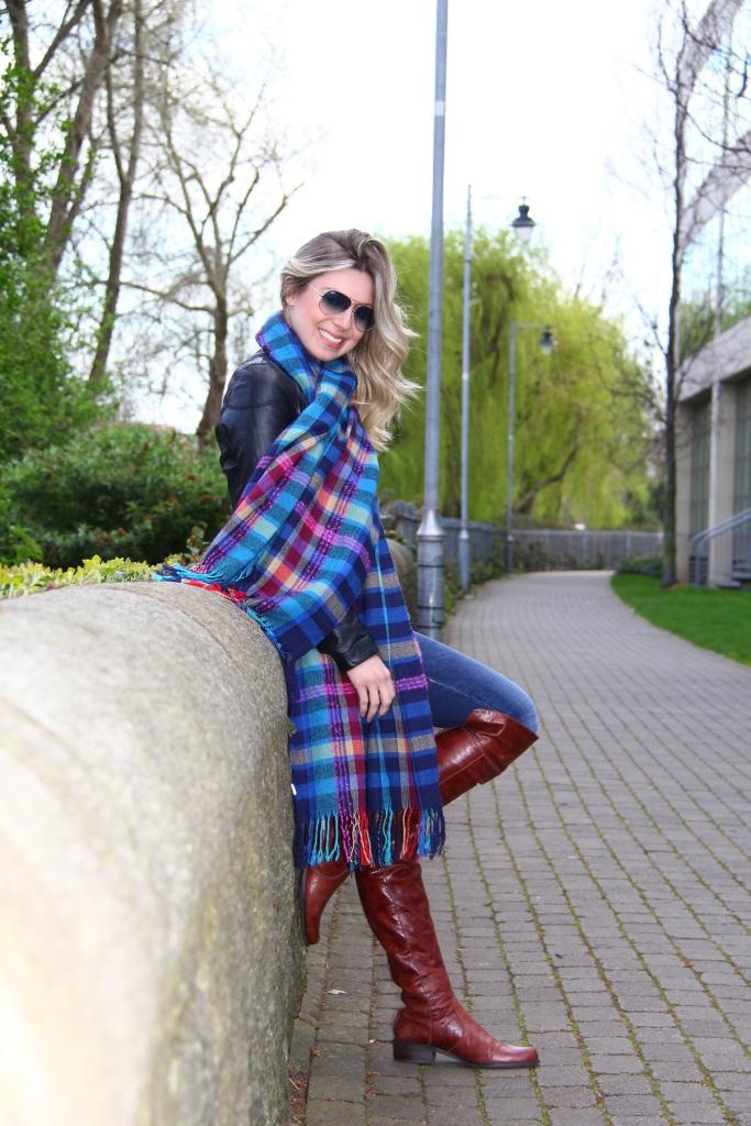 Mirella xadrez azul 4
