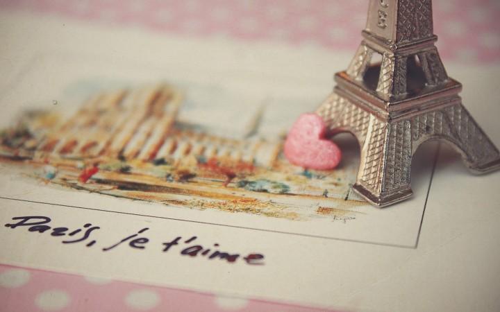 Paris,je T'aime Wide Desktop Background