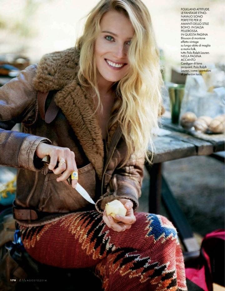 Dree Hemingway - Elle Magazine, Italia, August 2014 21 (1)