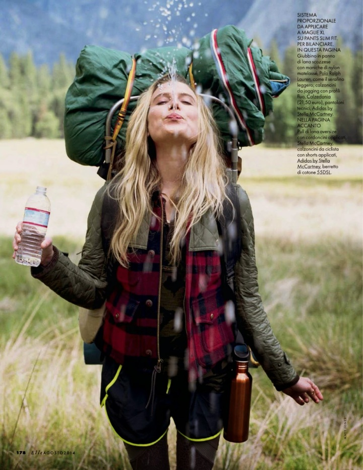 Dree Hemingway - Elle Magazine, Italia, August 2014 29