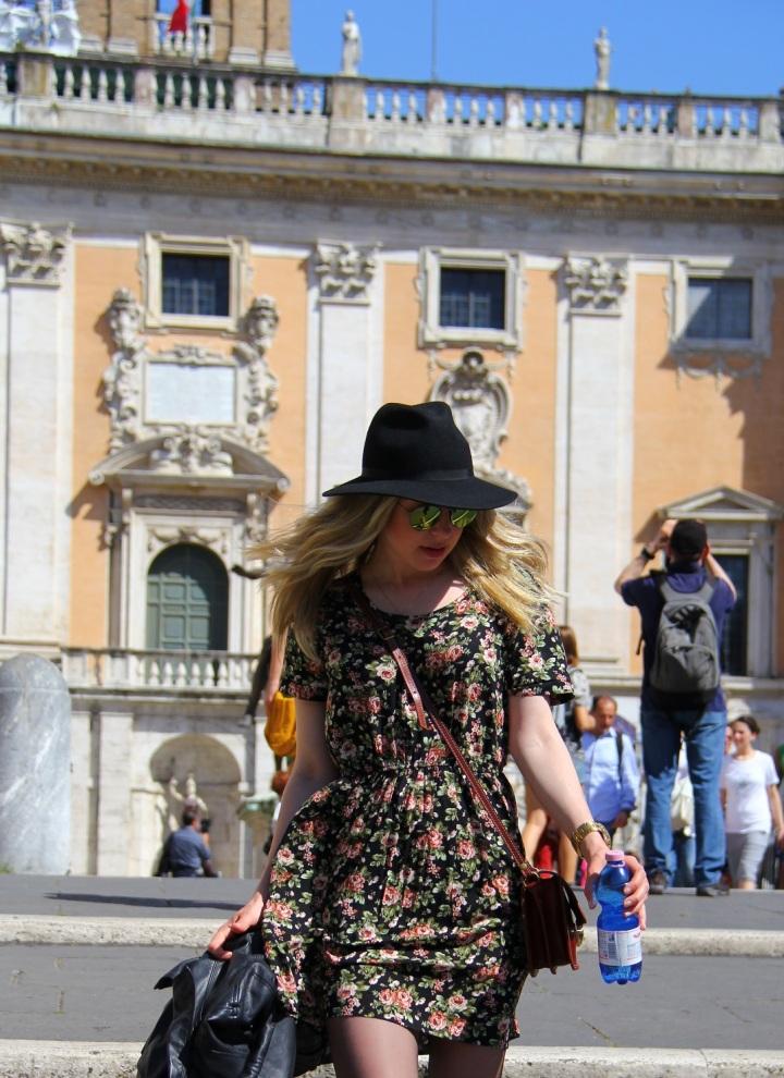 Mirella Roma vestido floral 12